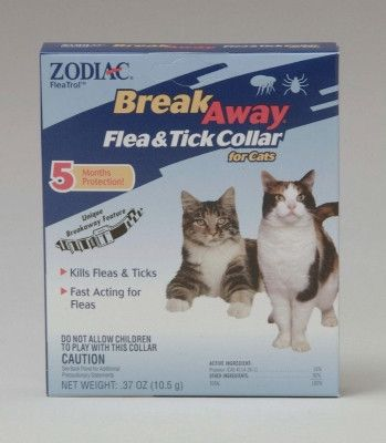 CAT FLEA COLLARS - BREAKAWAY CAT COLLAR Z37 - 1 CT - CENTRAL - FARNAM COMPANY - UPC: 41535439101 - DEPT: CAT PRODUCTS