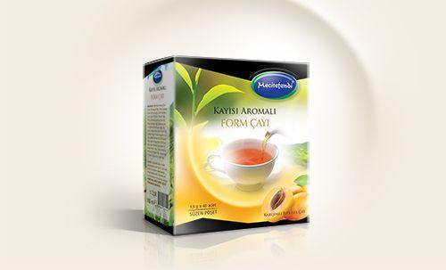 Mecitefendi Form Çay Ambalaj Tasarımı