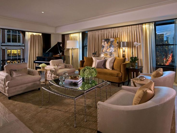 The Peninsula Suite Living Room (New York)
