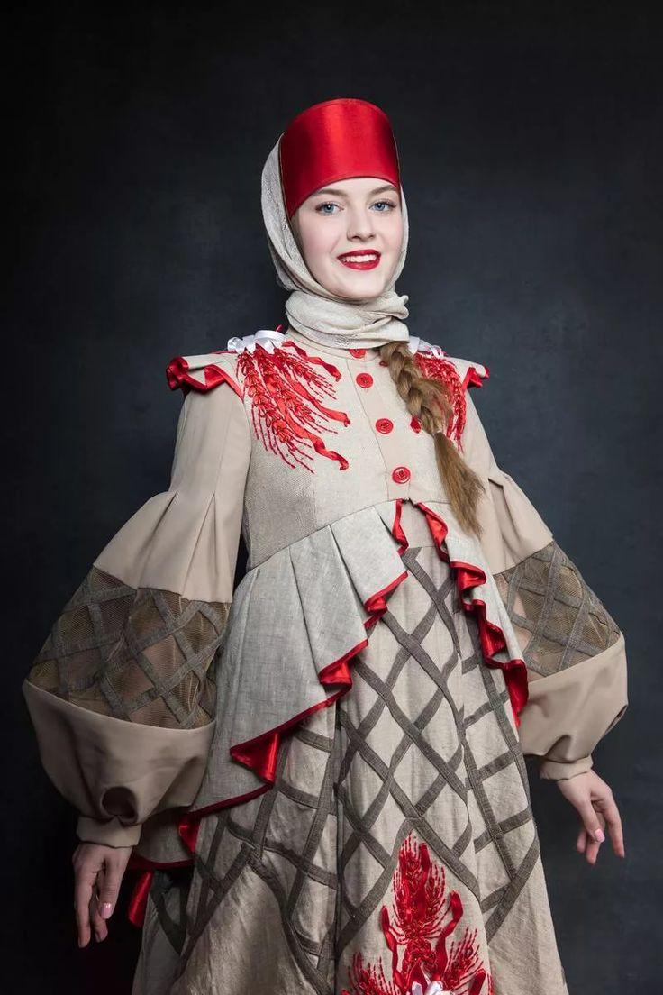 картинки в стиле народного костюма краюшку