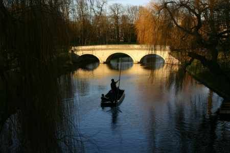 Punting in Cambridge -- this has been three years in the making and when we do it, we'll do it right ;)