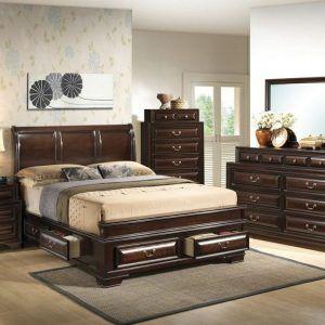 Solid Wood King Size Bedroom Sets