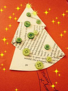 kerstboom vouwen - De Hippe Uil