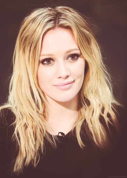 Hilary Duff looking so sweet