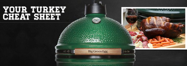 Big Green Egg Turkey Cheat Sheet - Big Green Egg - The Ultimate Cooking Experience | Big Green Egg - The Ultimate Cooking Experience