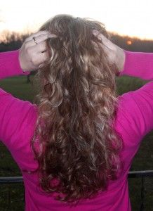 Curly Hair Without Heat Video – How To Put A Sock Bun In Your Hair