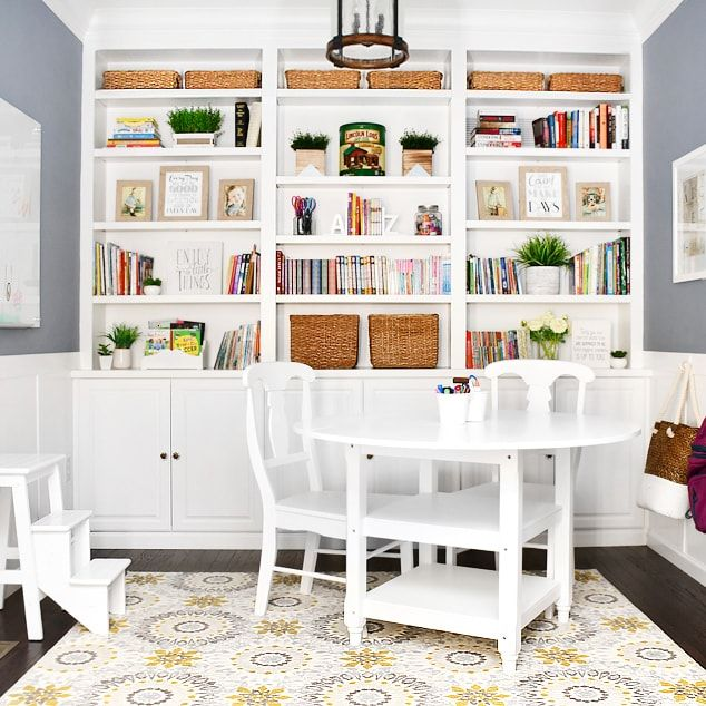 Homework Room Makeover After You See This Room You Ll Want One