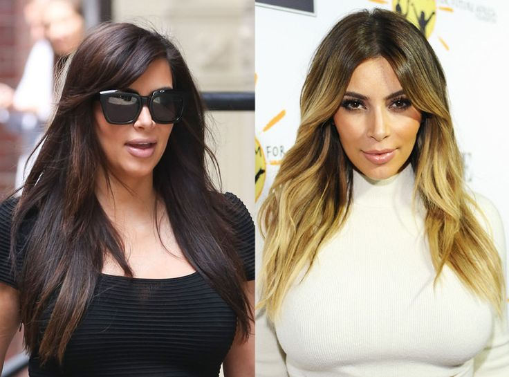 Kim Kardashian from Celebrities' Changing Hair Color | E! Online