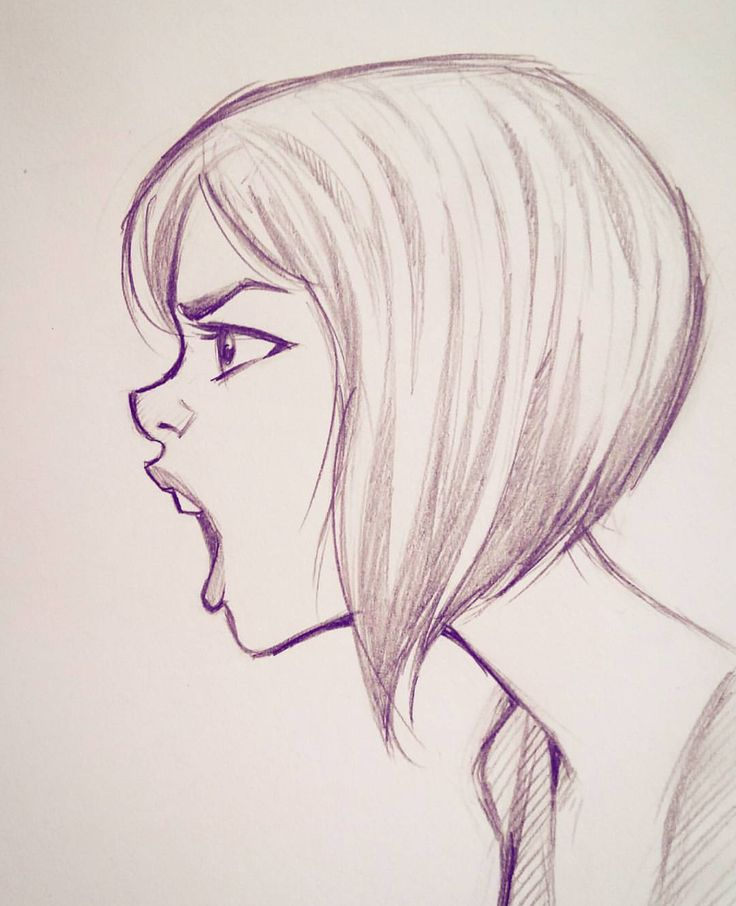 Side Of Face Drawing, How To Draw Profile And