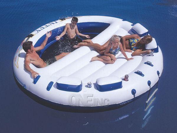 Oasis Island Pool Float