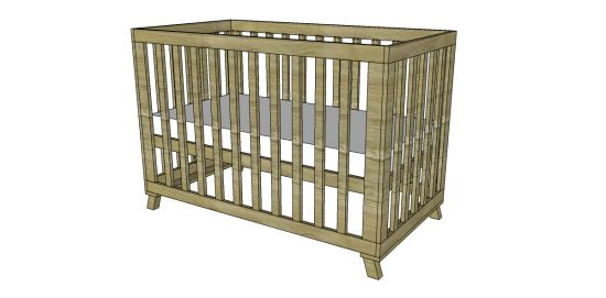 17 Best Images About Crib Plans Cradle Plans On