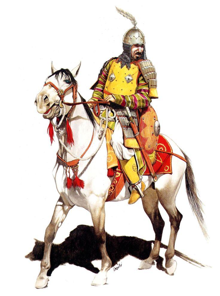 Ghaznavid or Kara-Khanid Warrior