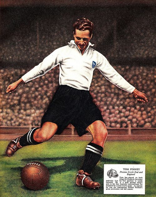 Tom Finney - Preston North End and England If ever there was a career in football which proved that trophies are not the only, or even the truest, measure of greatness, it was that of Tom Finney. Lack of medals should not disguise his genius.