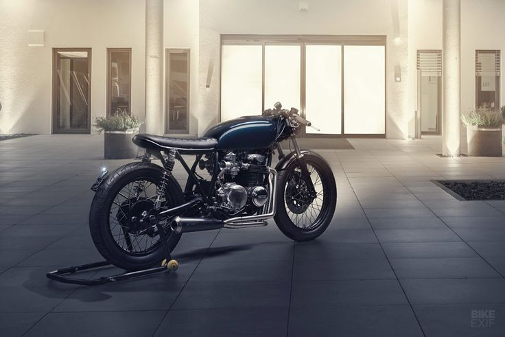 Better than new: A TÜV approved CB550 cafe racer