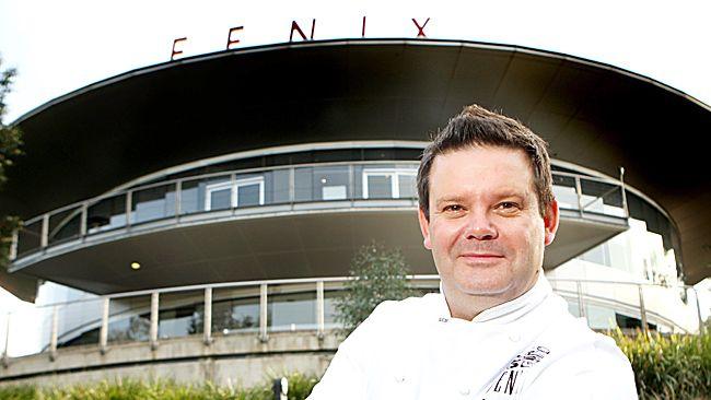 Chef Gary Mehigan outside his restaurant Fenix, in Richmond.