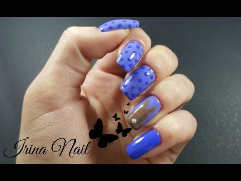 Bunnies and blue nails - YouTube