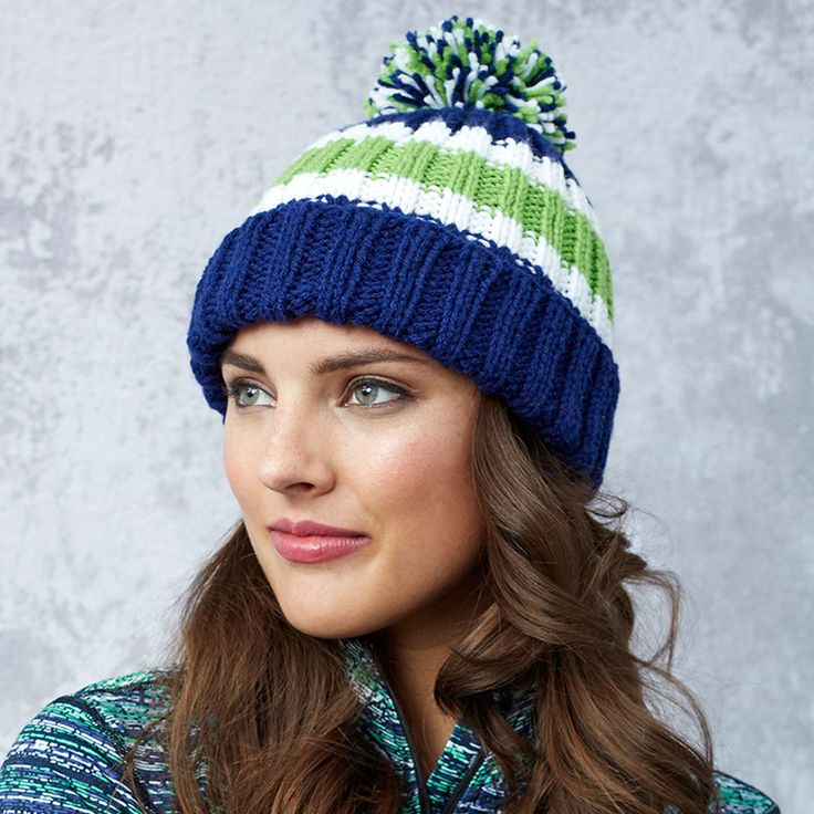 Red Heart Free Knitting Patterns Hats Red Heart Knitted ...