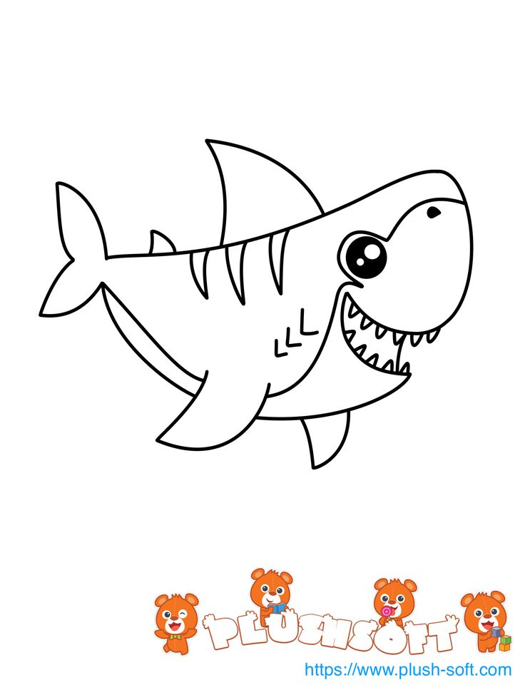 Best 25 Shark coloring pages ideas