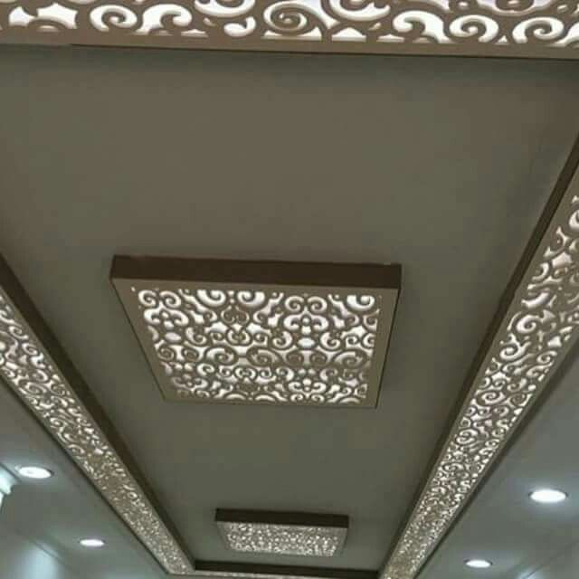 Lazer cut design false ceiling