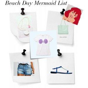 Beach Day Mermaid List