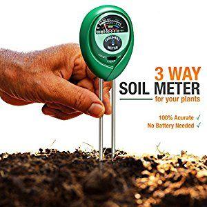 Soil Ph Meter For The Garden Soil