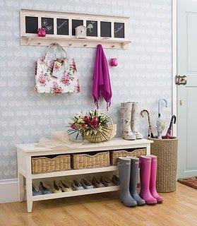 recibidores bonitos y funcionales decoracin