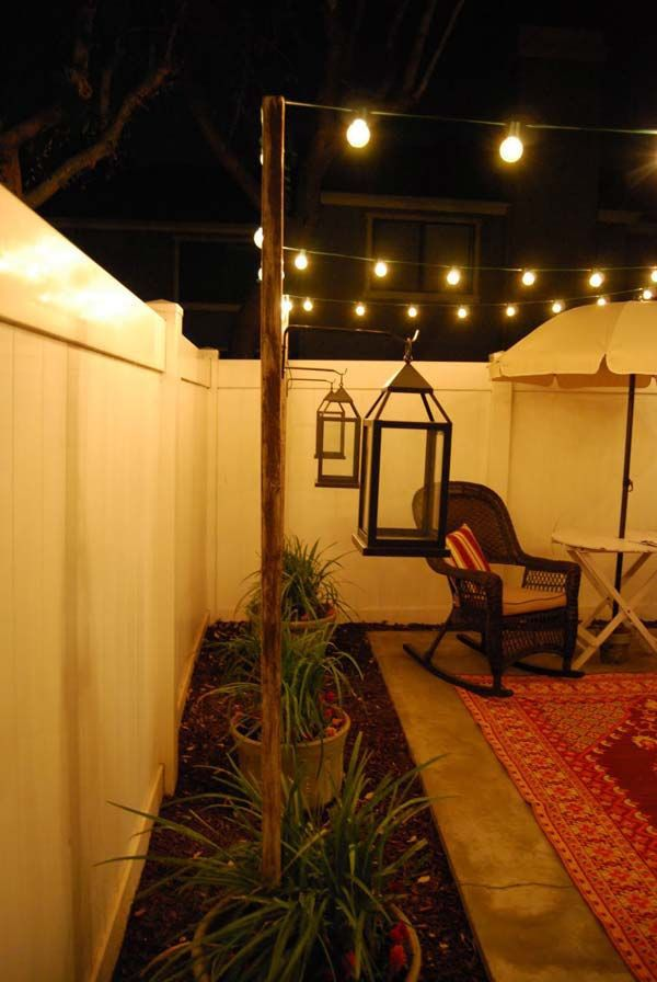 Lighting Ideas For Outdoor Living With