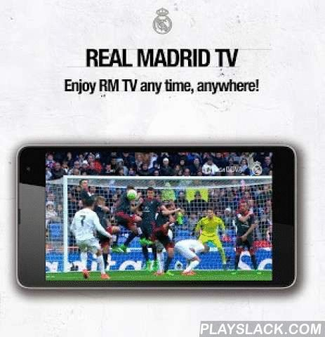 """Real Madrid App  Android App - playslack.com ,  Stay closer to the better club of the century more than ever with the official Real Madrid Application. With exclusive content and dozens ways to follow your favorite club. If you are a Real Madrid Fan this is your app.You can enjoy the following features:• Replays from different cameras with multiple angles.• Best plays and moments of each match.• Live Radio during the match in two languages: English and Spanish.• Exclusive """"La Décima""""…"""