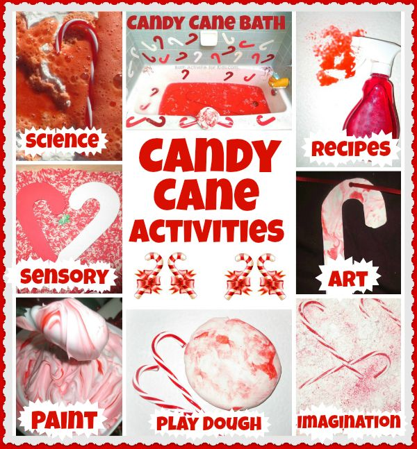 Fun and festive candy cane activities for kids from Growing A Jeweled ...