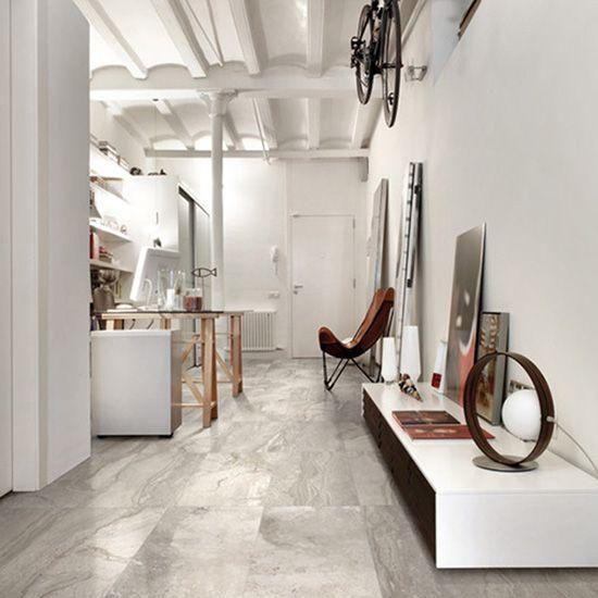 Pearson matt tile in grey or white.  400mm x 800mm