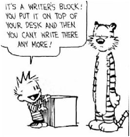 Tips to help with writers block