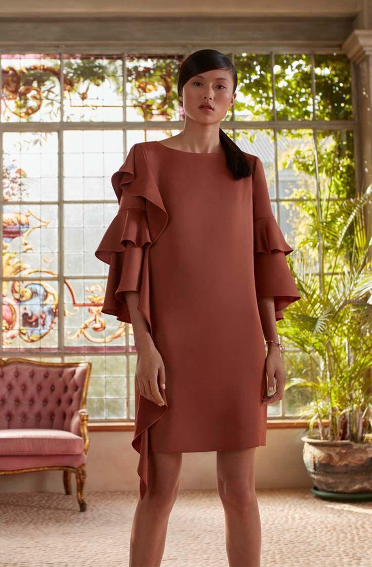 c75db0124 Ted Baker EICIO ruffle sleeve dress