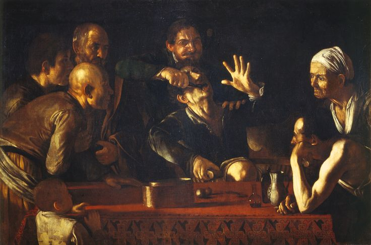 Caravaggio - The Tooth Puller