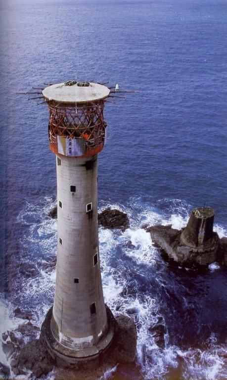 Eddystone Lighthouse, Devon Great Britain