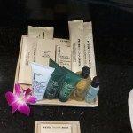 Suite Bathroom Amenities at the Hilton Phuket Arcadia Resort & Spa in Karon, Thailand