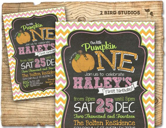 Hey, I found this really awesome Etsy listing at https://www.etsy.com/listing/204546407/pink-pumpkin-invitation-pink-pumpkin