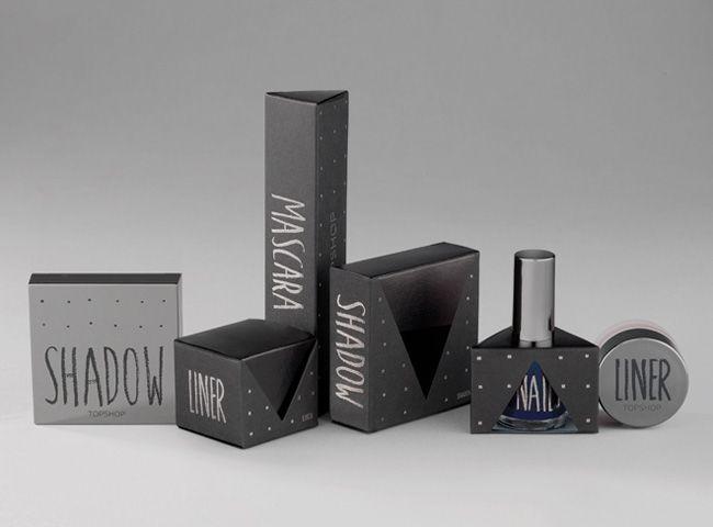 topshop cosmetic packaging