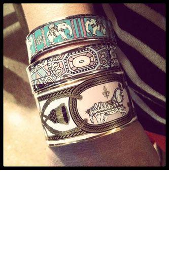 Love all my Hermes bracelets!!