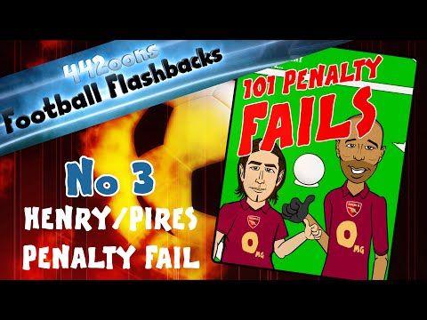Henry/Pires Penalty FAIL! Football Flashbacks No 3! (Arsenal vs Man City 2005/2006) - YouTube