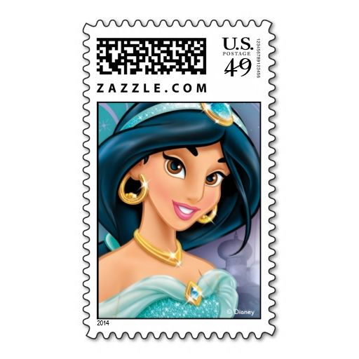 Jasmine Postage Stamps. This is customizable to put a personal touch on your mail. Add your photos or text to design your own stamp that can be sent through standard U.S. Mail. Just click the image to try it out!