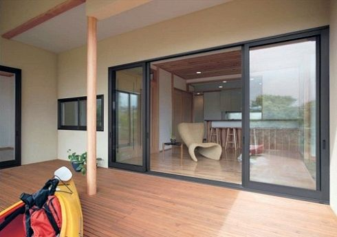Tostem America - Products - Double Sliding Patio Doors