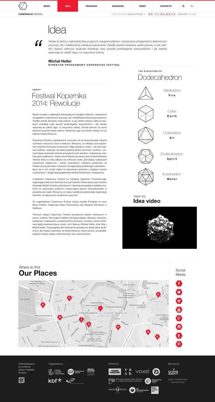 Copernicus Festival / IDEA DODECAHEDRON / evolution of form http://www.copernicusfestival.com/idea.html
