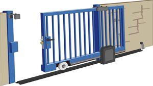 images of gates on wheels   Door hardware   Estebro.Gate hardware and stainless steel railings