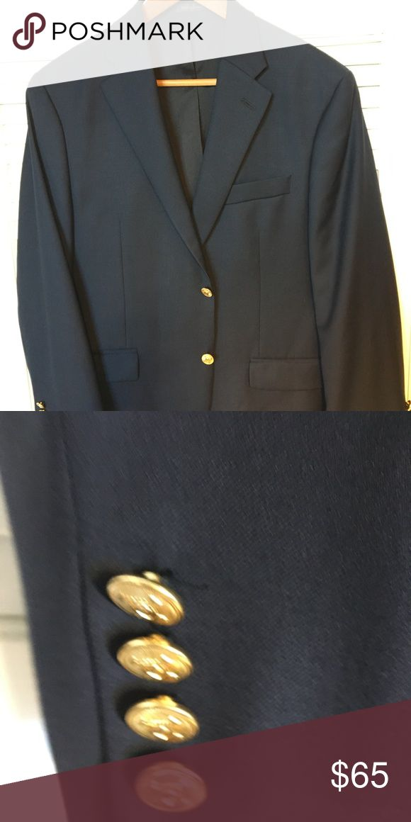 Men's Jackets Ralph Lauren Navy Blue sport jacket in size 40S. In great condition. Made in Canada. Lauren Ralph Lauren Suits & Blazers Sport Coats & Blazers