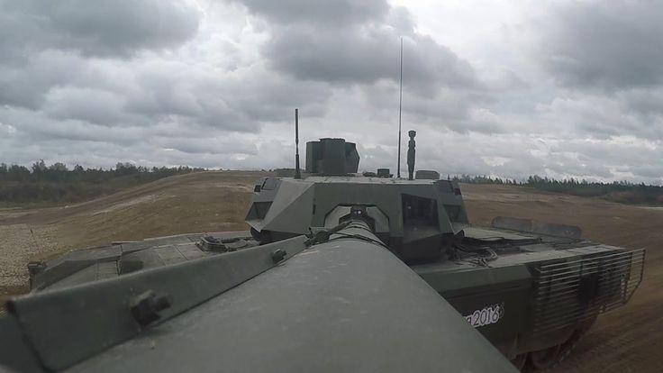 MBT russi in  poligono