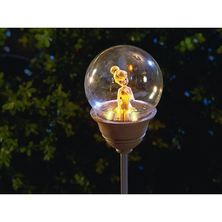 Disney Tinkerbell Solar Garden Stake - Outdoor Living - Outdoor Decor - Lawn Ornaments & Statues
