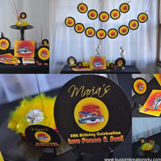 Soul Train Premium Party Collection In 2019 70 S Party