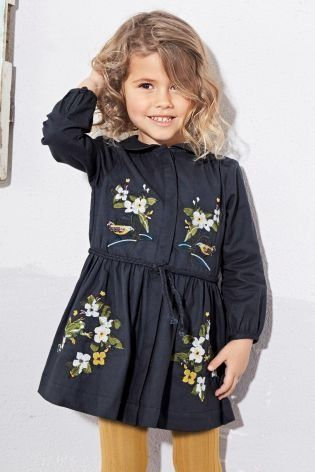 Your little one wants to buy into the embroidered trend too!