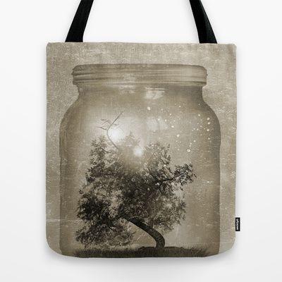 Saving Nature. Tote Bag by Viviana Gonzalez - $22.00