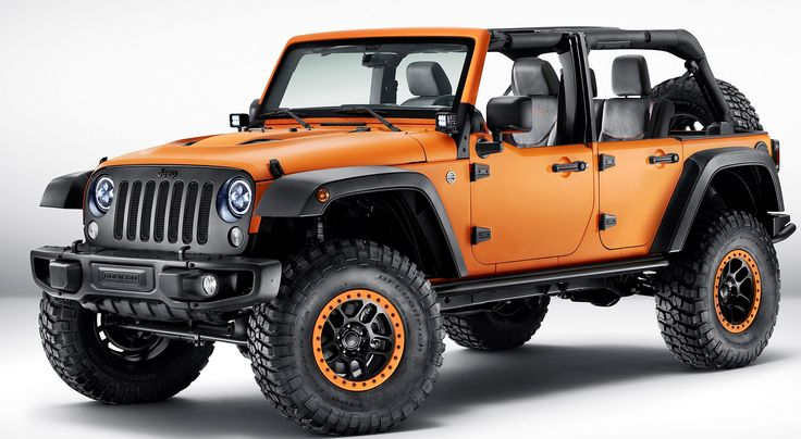 the jeep wrangler rubicon sunriser mopar conceptvehicle some of the custom features inclue a. Black Bedroom Furniture Sets. Home Design Ideas